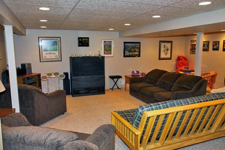 Remodeling Homes on Click Photo S Below To View Basement Remodeled By Mc Home Improvement
